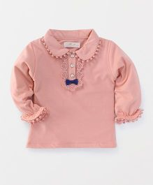 TBB Full Sleeve Stylish Top - Pink