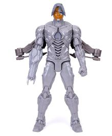 DC Comics Justice League Tech Blast Cyborg Figurine Grey - 30 cm