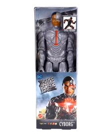 DC Comics Justice League Cyborg Figurine Grey - 29.5 cm