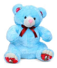 Liviya Teddy Bear Soft Toy Blue - Height 77 cm