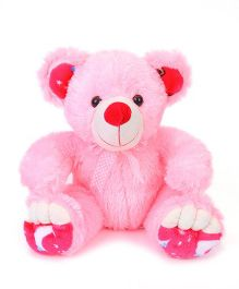 Liviya Teddy Bear Soft Toy Pink & White - Height 34 cm