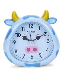 Cow Face Shape Clock - Sky Blue