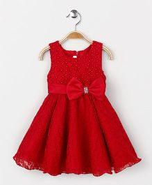 Fashion Collection by Meggie Party Wear Dress - Red