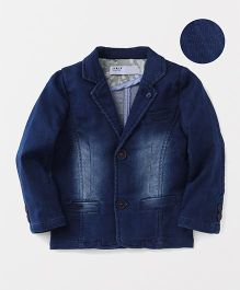 ZY & UP Denim Jacket - Blue