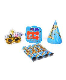 Themez Only Jungle/Madagascar Theme Birthday Party Kit - Accessories Combo 2
