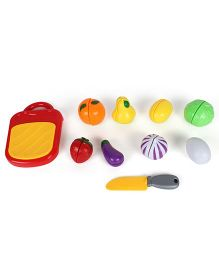 Kids Wagon Cutting Food Multicolor - Pack Of 10