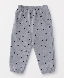 YiYi Garden Printed Leggings - Gray