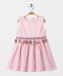 YiYi Garden Sleeveless Dress - Pink