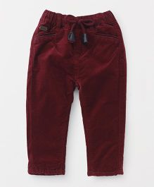 TBB Casual Pants - Maroon