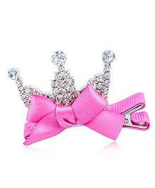 Funky Baby Princess Crown Tiara - Fuchsia