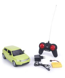 TurboS Remote Control Rover Car With Light - Green