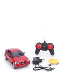 TurboS Remote Control SUV Car With Light - Red