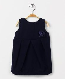 Yiyi Garden Sleeveless Frock - Blue