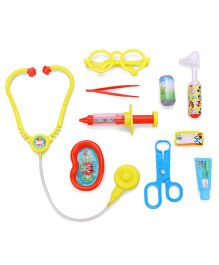 Disney Mickey Mouse Doctor Set Multi Color - 10 Pieces