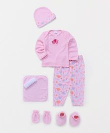 Mee Mee Clothing Gift Set Pack Of 7 - Pink