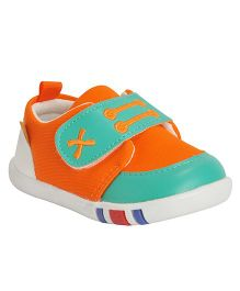 Kiwi Dual Color Sneakers - Orange & Green