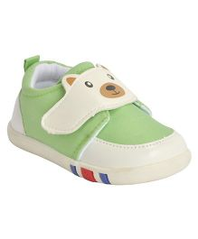 Kiwi  Slip-On Casual Shoes Teddy Design - Green