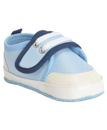 Kiwi Booties With Velcro Closure - Blue