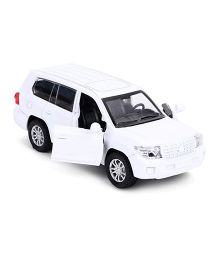 TurboS Urban Drive Die Cast Pull Back Toy Car - White