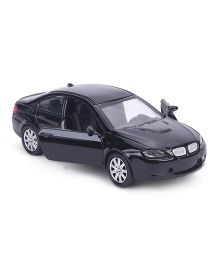 TurboS Urban Drive Die Cast Pull Back Toy Car - Black