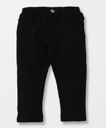 Fox Baby Full Length Jeggings - Black