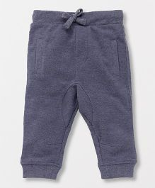 Fox Baby Full Length Lounge Pants With Drawstring - Blue