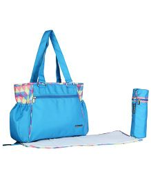 My Milestones Fashionable & Trendy Baby Diaper Bag Spectra - T. Blue