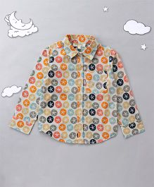 Hugsntugs Starfish Printed Shirt - Multicolor