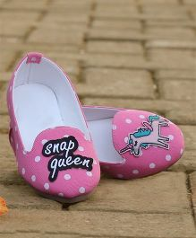D'chica Funky Fashion Loafers - Pink