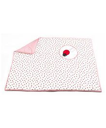 HouseThis The Bug Buddy Pure Cotton Quilt - Pink
