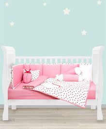HouseThis The Bug Buddy Pure Cotton Bedroom Set - Pink