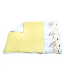 HouseThis The Perfect Morning Pure Cotton Quilt - Yellow