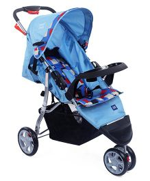 Mee Mee Jogger Stroller With Canopy - Blue Black