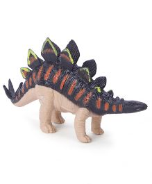 Wild Republic Bulk Dino Hollow Figure Black & Brown - 6.5 cm