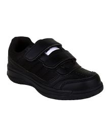 Fuel School Shoes Slip On Style - Black
