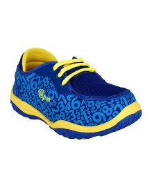 Myau Slip On Style Sports Shoes - Blue