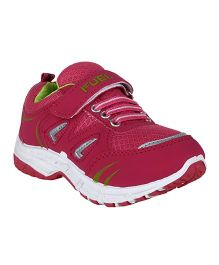 Fuel Slip On Style Sports Shoes - Pink