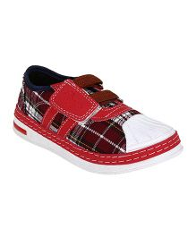 Myau Slip On Style Casual Shoes - Red