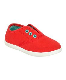Myau Casual Shoes Slip On Style - Red