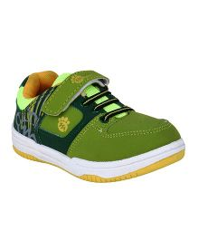 Myau Slip On Style Sports Shoes - Green
