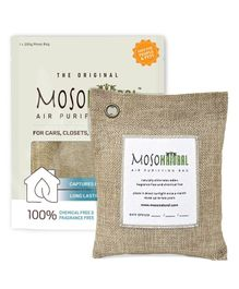 Moso Natural Air Purifying Bag Natural Color - Covers upto 90 Sq Ft