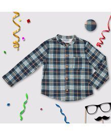 CrayonFlakes Knit Shirt Check - Multicolor