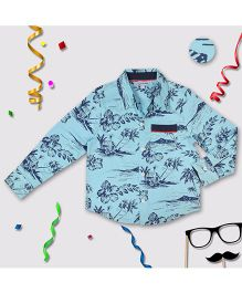 CrayonFlakes Hawain Shirt - Blue