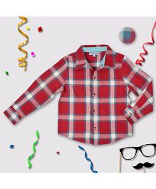 CrayonFlakes Check Shirt - Red
