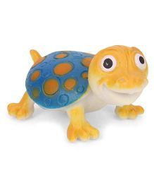 Wild Republic Tortoise Figure Blue Yellow - 4.5 cm