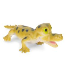 Wild Republic Crocodile Figure Light Green - 7 cm