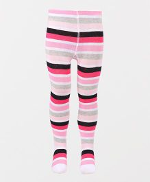 Luvable Friends Stripe Tights - Multicolor