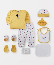 Mee Mee Clothing Gift Set Pack of 9 - Yellow