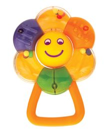 Mee Mee Flower Shape Rattle - Multicolor