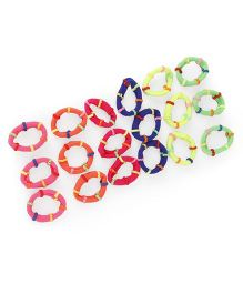 Stol'n Hair Rubber Bands Multi Color - Pack of 18